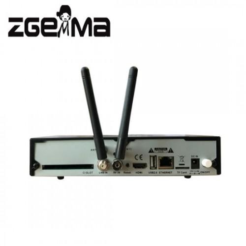 Zgemma H9 COMBO - 4K - DVB-S2X + T2/C - Stalker - WIFI