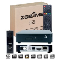 ZGEMMA i55 IPTV Box, Dual Core Linux OS E2