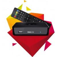 MAG 254 Latest Original Linux IPTV/OTT Box
