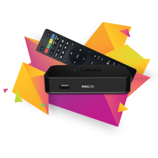 MAG 256 Latest Original Linux IPTV/OTT Box