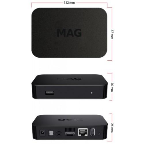 MAG 322 (MAG 254 UPGRADE) IPTV/OTT Box